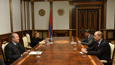 Photo of Նախագահ Սարգսյանը հանդիպել է Հորդանանի արտաքին գործերի և արտագաղթյալների նախարարի հետ