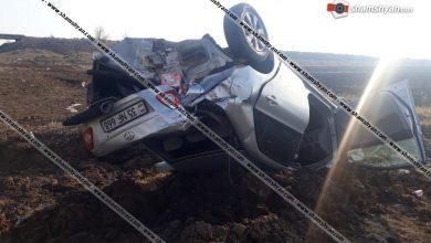 Photo of Խոշոր ավտովթար Շիրակի մարզում. 35-ամյա վարորդը Toyota-ով դուրս է եկել երթևեկելի գոտուց և գլխիվայր շրջվելով՝ հայտնվել դաշտում. կա վիրավոր