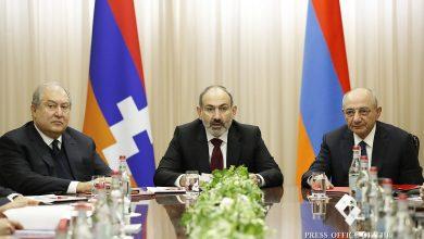 Photo of Совместное заседание Советов безопасности Армении и Арцаха в Ереване
