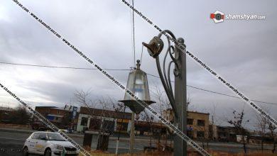 Photo of Անհայտ անձինք կոտրել են Պռոշյան գյուղի Արցախյան ազատամարտի նահատակների պանթեոնի լապտերները