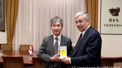 Photo of ԱԻ նախարարն ընդունել է Ճապոնիայի դեսպանին. գնահատվում է արդյունավետ համագործակցությունը