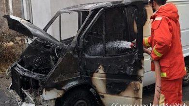 Photo of Ամբողջությամբ այրվել է ավտոմեքենայի շարժիչի հատվածն ու սրահը. կա տուժած