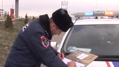 Photo of Նոյեմբերի 25-ից դեկտեմբերի 1-ը հայտնաբերվել է ոչ սթափ 79 վարորդ