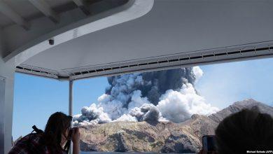 Photo of Более 20 туристов пропали без вести после извержения вулкана