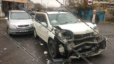 Photo of Ավտովթար-վրաերթ Երևանում. բախվել են Opel-ն ու Nissan-ը, Nissan-ն էլ վրաերթի է ենթարկել հետիոտնին. կան վիրավորներ