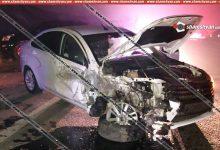 Photo of Խոշոր ավտովթար Կոտայքի մարզում. բախվել են Toyota Land Cruiser Prado-ն և Lada Vesta-ն. կա 4 վիրավոր