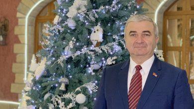 Photo of ԱՀ ԱԺ նախագահ Աշոտ Ղուլյանի   Ամանորյա շնորհավորական ուղերձը