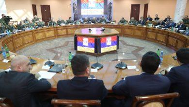Photo of ՊՆ վարչական համալիրում տեղի է ունեցել հանրապետական զորակոչային հանձնաժողովի ընդլայված նիստ