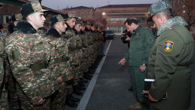 Photo of Պաշտպանության նախարարն այցելել է Կենտրոնական հավաքակայան