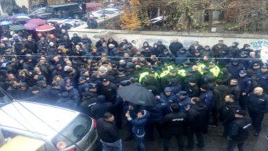 Photo of «Վրացական երազանք» կուսակցության աջակիցները բողոքի ցույց են անցկացրել. բախում է տեղի ունեցել