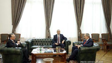 Photo of Премьер-министр Армении принял министров иностранных дел Армении и Арцаха