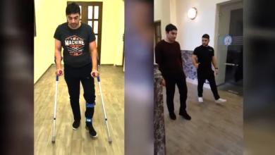 Photo of Հրազենային գնդակային վիրավորում ստացած Արմենն արդեն քայլում է