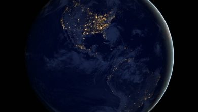 Photo of Спутник показал, как две Америки светятся ночью