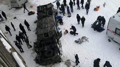 Photo of Автобус упал в реку в Забайкалье: погибли 15 человек
