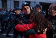 Photo of Արայիկ Հարությունյանի հրաժարականը պահանջող 24 ցուցարար բերման է ենթարկվել