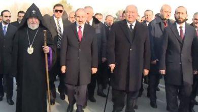 Photo of Հայկական բանակի օրվա կապակցությամբ Նիկոլ Փաշինյանը այցելել է  «Եռաբլուր» զինվորական պանթեոն
