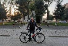 Photo of 7500 կմ անցած զբոսաշրջիկի հեծանիվը Թբիլիսիում գողացել են