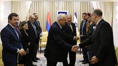Photo of Израильская пресса отреагировала на визит президента Армении Армена Саркисяна в Израиль