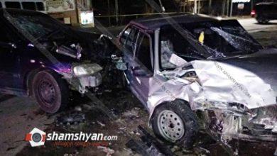 Photo of Խոշոր ավտովթար Արագածոտնի մարզում․ բախվել են Opel-ն ու VAZ 21014-ը․ կա 4 վիրավոր