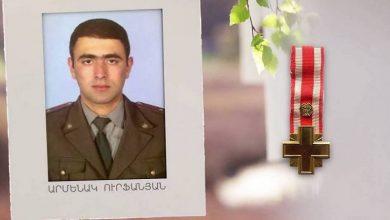 Photo of Այսօր Ապրիլյան պատերազմի հերոս Արմենակ Ուրֆանյանի ծննդյան օրն է