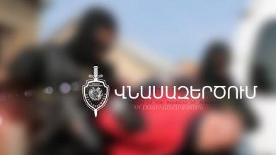 """Photo of Человек, стрелявший в """"Эребуни плаза"""" доставлен в полицию"""