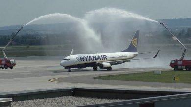 Photo of «Ryanair»-ի առաջին օդանավը Երևանում դիմավորեցին ջրաշիթերով