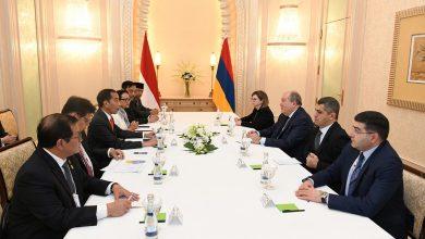 Photo of Նախագահ Արմեն Սարգսյանը հանդիպել է Ինդոնեզիայի նախագահի հետ