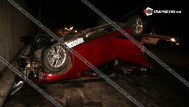 Photo of Ողբերգական ավտովթար Երեւանում. 31-ամյա վարորդը Mazda 6-ով բախվել է էլէկտրասյանը. Վարորդը հիվանդանոցի ճանապարհին մահացել է