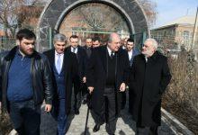 Photo of Նախագահ Արմեն Սարգսյանն այցելել է Վազգեն Սարգսյանի ընտանիքին