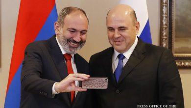 Photo of Никол Пашинян и Михаил Мишустин обсудили ряд вопросов повестки армяно-российских отношений