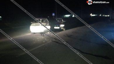 Photo of Ավտովթար Շիրակի մարզում. Գյումրիում բախվել են Mercedes-ն ու Audi-ն. կա վիրավոր