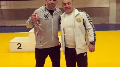Photo of Арсен Джулфалакян — золотой  призер международного турнира  в  Дании