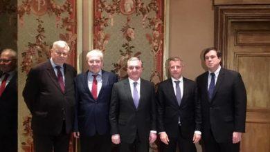 Photo of Զոհրաբ Մնացականյանը հանդիպում է ունեցել ԵԱՀԿ Մինսկի խմբի համանախագահների հետ