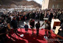 Photo of 32 սպաների բնակարանների բանալիները հանձնել է Դավիթ Տոնոյանը