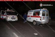 Photo of Խոշոր ու ողբերգական ավտովթար Արարատի մարզում. Opel-ը բախվել է երկաթե արգելապատնեշներին, այնուհետև երկաթե գովազդային սյանը. մեքենան մեջտեղից կիսվել է. կան զոհեր