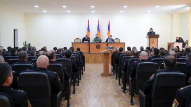 Photo of ՀՀ ՊՆ ռազմական ոստիկանությունում ամփոփվել են կատարված աշխատանքների արդյունքները