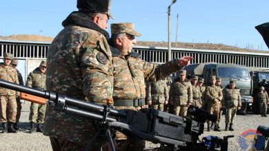 Photo of ՊԲ հրամանատարի ղեկավարությամբ անց են կացվել ցուցադրական պարապմունքներ