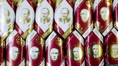 Photo of В Омске детям подарили конфеты с портретом Путина