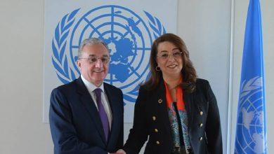 Photo of ԱԳ նախարար Զոհրաբ Մնացականյանը հանդիպել է ՄԱԿ-ի գլխավոր քարտուղարի տեղակալի հետ