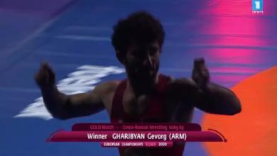 Photo of Геворк Гарибян стал чемпионом Европы, в напряженном поединке одержав победу над турецким спортсменом