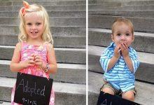 Photo of 15 трогательных фото детей, которых только что усыновили