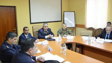 Photo of ՔԿ նախագահի տեղակալն աշխատանքային հանդիպում է ունեցել ՊԲ հրամանատարական կազմի հետ