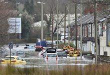 Photo of На Британию обрушился шторм «Деннис». В Англии — рекордные потопы