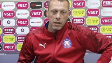 Photo of Բերեզովսկի. «Երկրորդ կեսում մրցակիցը չէր ցանկանում դաշտ դուրս գալ. նման բան չպետք է լինի ֆուտբոլում»