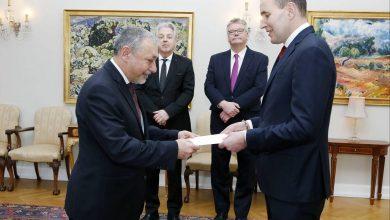 Photo of Դեսպան Արզումանյանն իր հավատարմագրերն է հանձնել Իսլանդիայի նախագահին