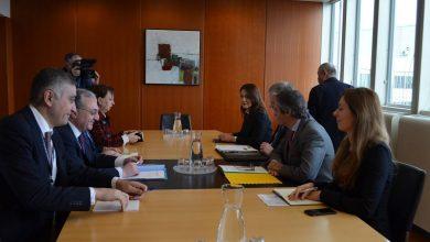 Photo of Զոհրաբ Մնացականյանի հանդիպել է ԱԷՄԳ գլխավոր տնօրեն Ռաֆայել Գրոսսի հետ