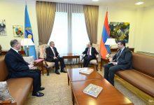 Photo of Զոհրաբ Մնացականյանը հանդիպել է ՀԱՊԿ գլխավոր քարտուղար Ստանիսլավ Զասին
