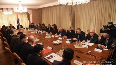 Photo of Совместное заседание Советов безопасности двух армянских государств