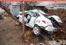 Photo of Երևանում 31-ամյա վարորդը Hyundai-ով տապալել է էլեկտրասյունն ու գլխիվայր շրջվելով՝ հայտնվել հարակից տարածքում. կան վիրավորներ