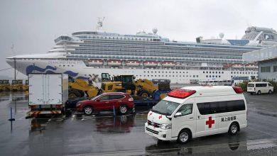 Photo of Число заразившихся коронавирусом на борту круизного судна в Японии достигло 454